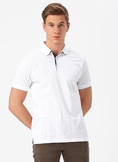 Cotton Bar Tişört Beyaz